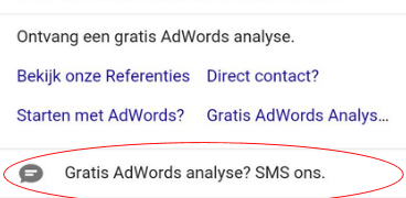 AdWords update - berichtextensies!