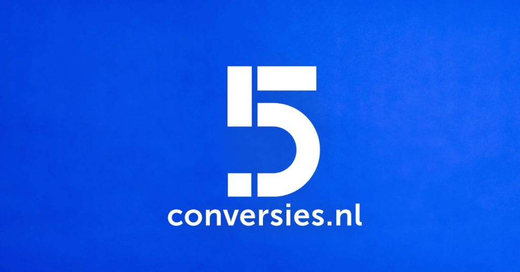 Conversies is 5 jaar