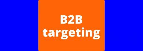 B2B targeting