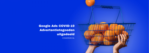 Covid-19 advertentietegoed
