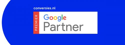 Conversies.nl is opnieuw Google Premier Partner